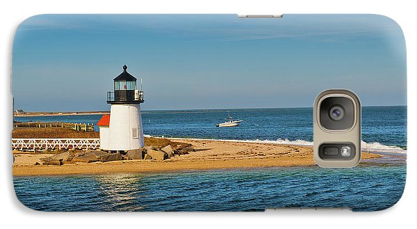 Galaxy Case featuring the photograph Brant Point Lighthouse Nantucket by Marianne Campolongo