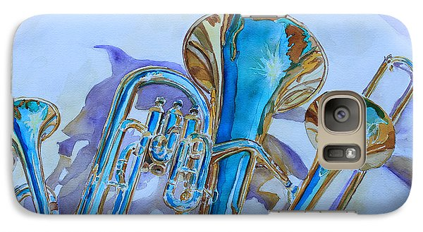 Jazz Galaxy S7 Case - Brass Candy Trio by Jenny Armitage