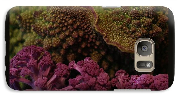 Galaxy Case featuring the photograph Brassica Landscape by Patricia Overmoyer