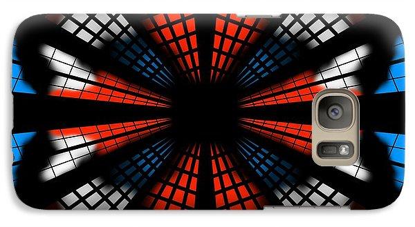 Galaxy Case featuring the digital art Breakdown Of America by Brian Johnson