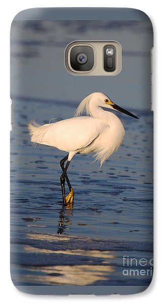 Galaxy Case featuring the photograph Breakfast Companion by Linda Mesibov