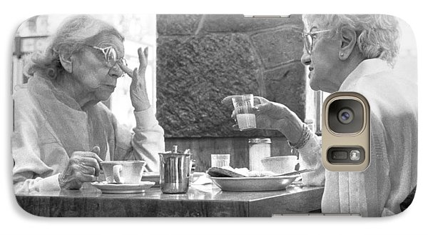 Breakfast Ladies Galaxy S7 Case by Dave Beckerman