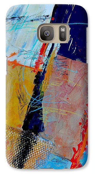 Galaxy Case featuring the painting Breaking Away by Ron Stephens