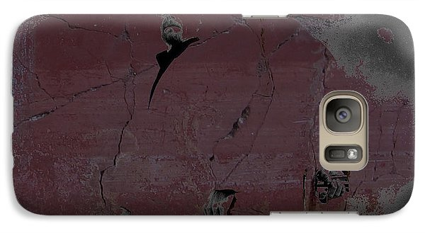Galaxy Case featuring the digital art Breaking Bad Concrete Wall by Brian Reaves