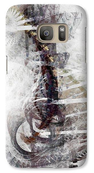 Galaxy Case featuring the digital art Breaking Bones by NirvanaBlues