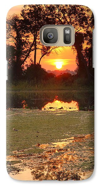 Galaxy Case featuring the photograph Breaking Out by Steven Ainsworth