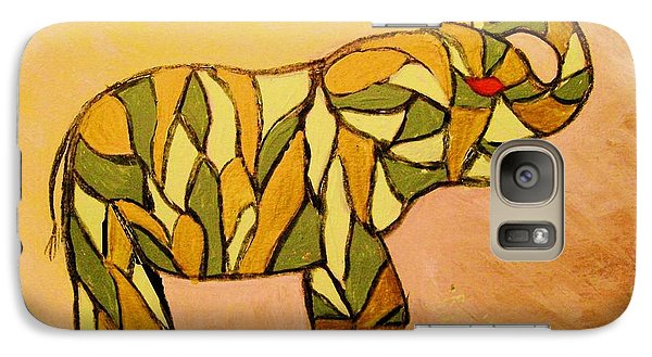 Galaxy Case featuring the painting Breaking The Chain Limited Edition Prints 1 Of 20 by Donna Dixon