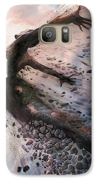 Galaxy Case featuring the digital art Breaking The Mold by Steve Goad