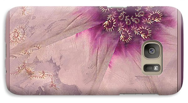 Galaxy Case featuring the photograph Breaking Through by Barbara R MacPhail
