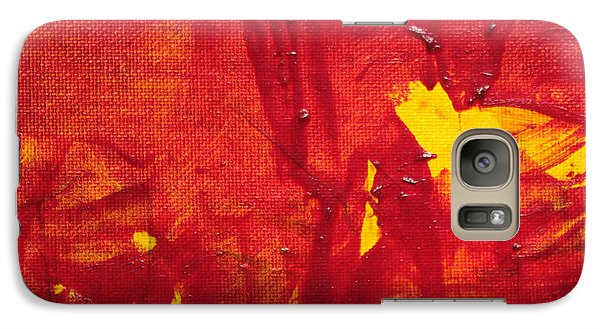 Galaxy Case featuring the painting Breakthrough  C2013 By Paul Ashby by Paul Ashby