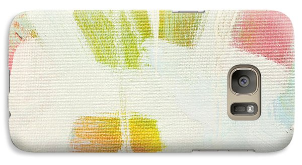 Galaxy Case featuring the painting Breakwater  C2013 by Paul Ashby