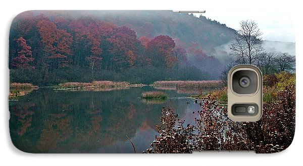Galaxy Case featuring the photograph Breath Of Autumn by Christian Mattison