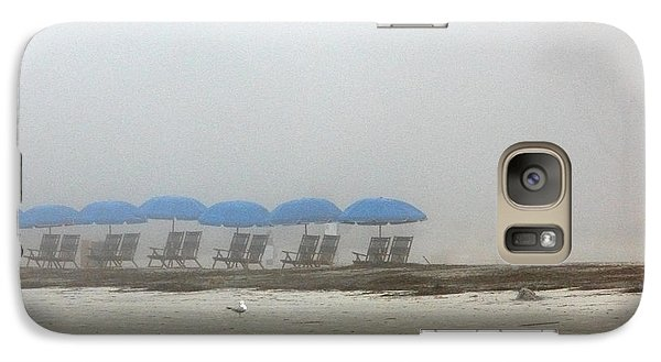 Galaxy Case featuring the photograph 'brella Pattern by Kay Lovingood