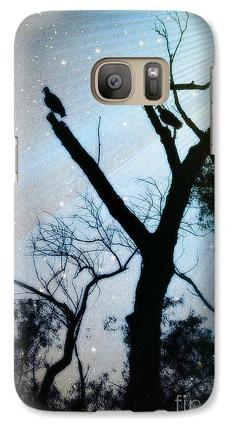 Galaxy Case featuring the photograph Brevity Of Life Light Trail No. 4414f by Joe Finney