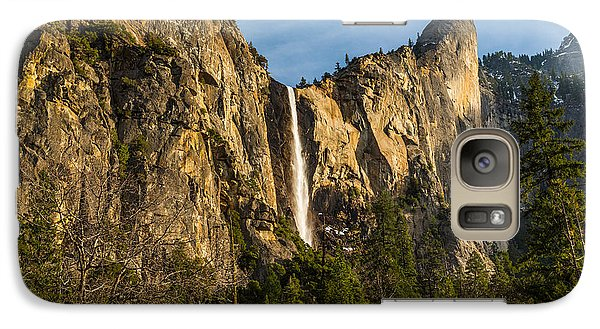 Galaxy Case featuring the photograph Bridalveil Falls by Mike Lee