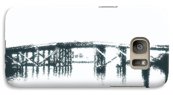 Galaxy Case featuring the photograph Bridge City Bridge by Max Mullins