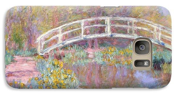Architecture Galaxy S7 Case - Bridge In Monet's Garden by Claude Monet
