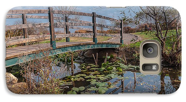 Galaxy Case featuring the photograph Bridge by Sergey Simanovsky