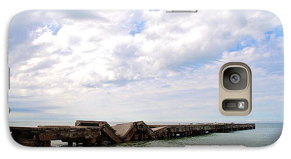 Galaxy Case featuring the photograph Bridge To Nowhere by Margie Amberge