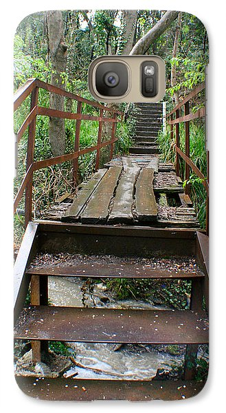 Galaxy Case featuring the photograph Bridge To Simiez by Jon Emery