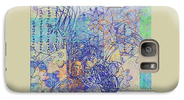 Galaxy Case featuring the digital art Bridges by Gabrielle Schertz