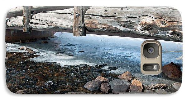 Galaxy Case featuring the photograph Bridges by Minnie Lippiatt