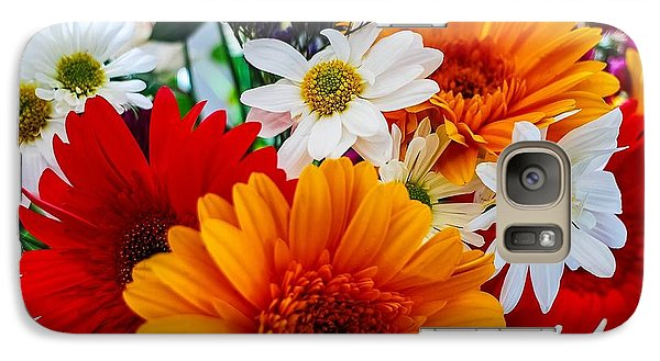Galaxy Case featuring the photograph Bright by Angela J Wright