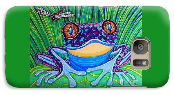 Bright Eyed Frog Galaxy S7 Case