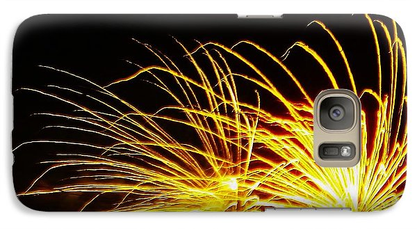 Galaxy Case featuring the photograph Bright Lights For The New Year by Brigitte Emme
