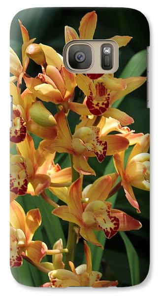 Galaxy Case featuring the photograph Bright Summer Flowers by Bill Woodstock