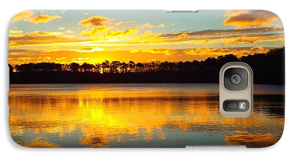 Galaxy Case featuring the photograph Brilliant Sunrise by Dianne Cowen
