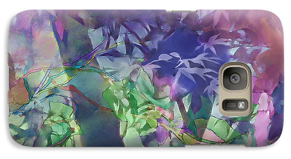 Galaxy Case featuring the digital art Brilliant Sunrise by Ursula Freer
