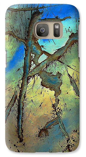 Galaxy Case featuring the painting Brillig by Stuart Engel