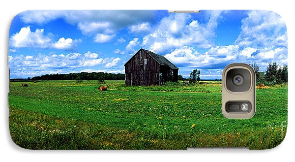 Galaxy Case featuring the photograph Brimley Farm Near  Sault Ste Marie Michigan  by Tom Jelen
