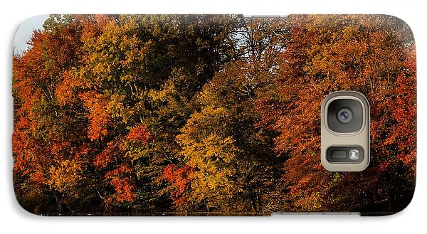 Galaxy Case featuring the photograph Brinton Lake by Judy Wolinsky
