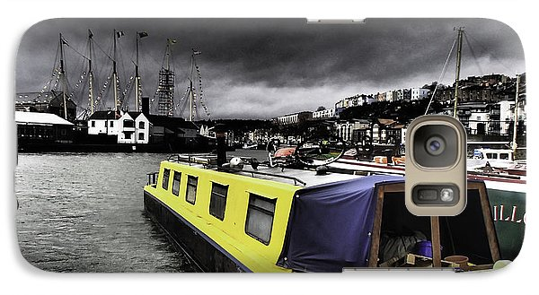 Galaxy Case featuring the photograph Bristol Harbor by Michael Canning