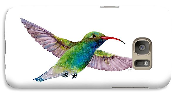Broad Billed Hummingbird Galaxy S7 Case by Amy Kirkpatrick