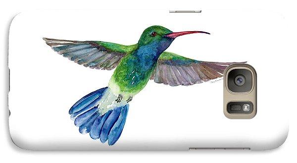 Broadbilled Fan Tail Hummingbird Galaxy S7 Case