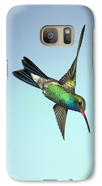 Galaxy Case featuring the photograph Broadbilled Hummingbird - Phone Case Design by Gregory Scott