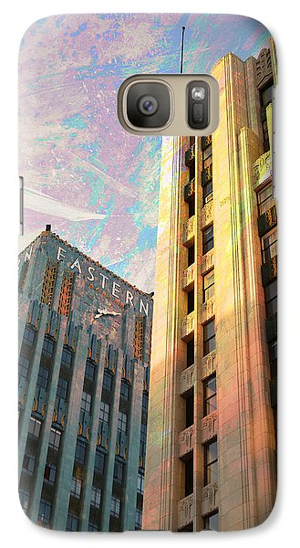 Galaxy Case featuring the photograph Broadway And Ninth Dwontown Corner by John Fish