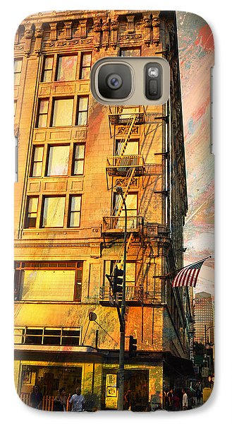 Galaxy Case featuring the photograph Broadway And Ninth Facing West by John Fish