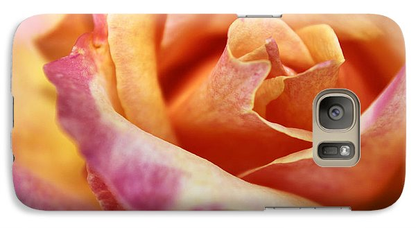 Galaxy Case featuring the photograph Broadway Hybrid Tea Rose by Jason Politte