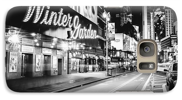 Broadway Theater - Night - New York City Galaxy S7 Case by Vivienne Gucwa