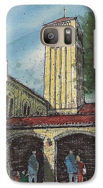 Galaxy Case featuring the painting Broadway Tower by Tim Oliver