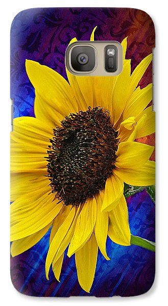 Galaxy Case featuring the photograph Brocade Daisy by Judy  Johnson