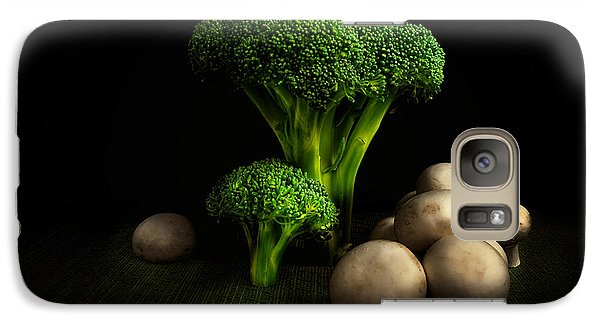 Broccoli Crowns And Mushrooms Galaxy S7 Case by Tom Mc Nemar