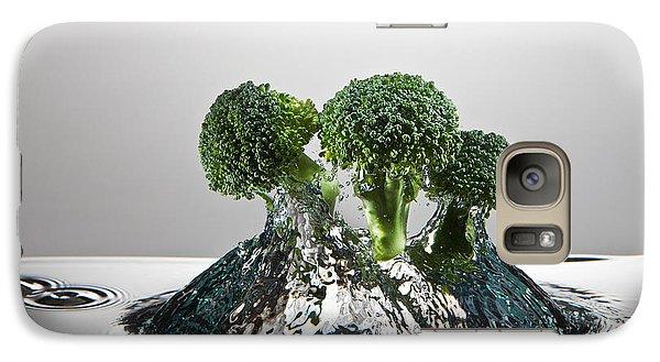 Broccoli Freshsplash Galaxy S7 Case by Steve Gadomski