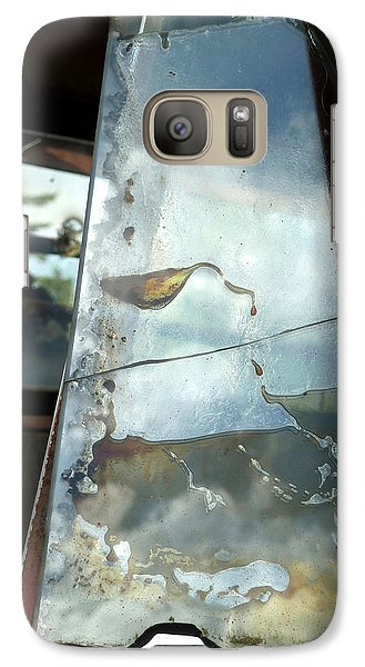 Galaxy Case featuring the photograph Broke by Newel Hunter