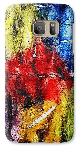 Galaxy Case featuring the painting Broken 4 by Michael Cross