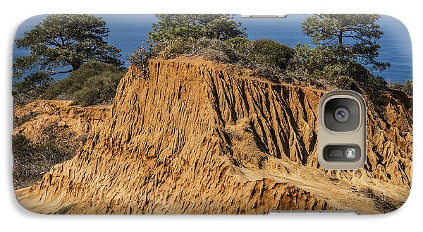 Galaxy Case featuring the photograph Broken Hill At Torrey Pines by Lee Kirchhevel